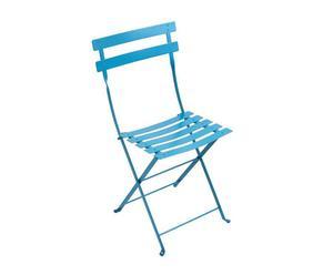 """Krzesło """"Bistro"""", błękitne"""