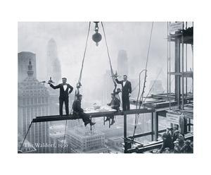 """Reprodukcja na płycie MDF """"New York, 1930"""""""