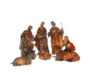 """Świecące figurki do szopki """"Trzej Królowie"""""""