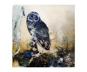 """Grafika muśnięta pędzlem artysty """"Decoupage Owl"""""""