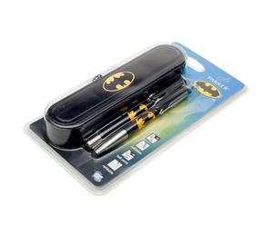 """Komplet pióra, długopisu i etui """"Batman"""""""