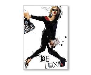 """PLAKAT """"DE LUXE"""" 100 x 70 cm"""