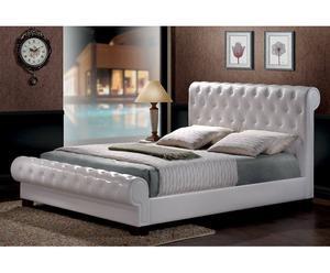 """Łóżko """"Malibu"""", białe"""