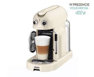 """Ekspres do kawy """"Nespresso Maestria"""", kremowo-srebrno-czarny"""