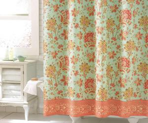 JL Bloom shower curtain