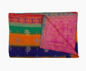 Bollywood Kantha Throw