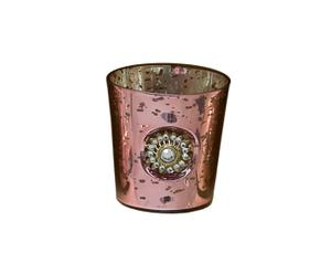 Pink Tea-Light Holder