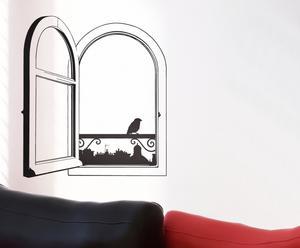 """Naklejka """"Open Window"""" – czarna"""