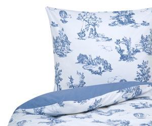 """Posteľná bielizeň """"Toile de Jouy Blue"""", 140 x 200 cm"""