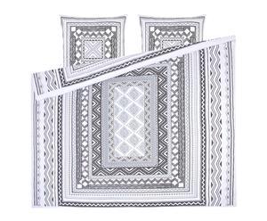 "Posteľná bielizeň ""Boemi Black"", 200 x 200 cm"