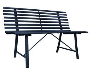 "Záhradná lavička ""Riley Dark"", 59 x 120 x 80 cm"