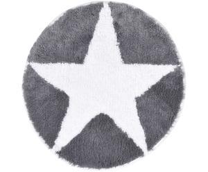 """Kúpeľňový koberček """"Star Silver"""", ø 60 cm"""