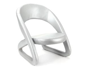 "Stolička ""Modern Silver"", 75 x 62 x 72 cm"