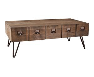 "Televízny stolík ""Allena"", 60,3 x 120,5 x 43,5 cm"