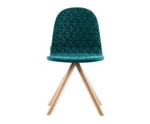 "Stolička s mriežkovaným vzorom ""Mannequin 01"", 43 x 40 x 81 cm"
