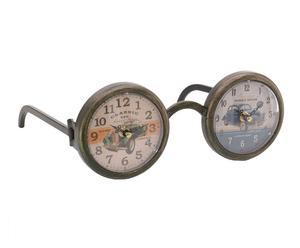 "Stojace hodiny ""Sunglasses"", 23 x 29 x 12 cm"