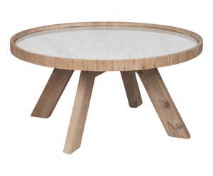 """Konferenčný stolík """"Wood"""", Ø 79, wys. 40 cm"""
