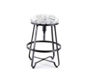 """Otočná stolička """"Lamali"""", Ø 40, výš. 52 cm"""