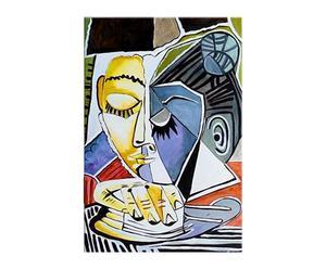 """Reprodukcia obrazu """"Hlava čítajúcej ženy"""", 60 x 90 cm"""