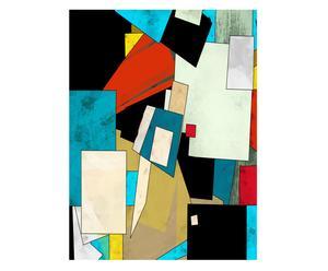 "Nástenná dekorácia ""Abstract II"", 90  x 120 cm"