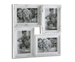 """Nástenný foto-rámik """"Ventanes White"""", 33 x 2 x 33 cm"""
