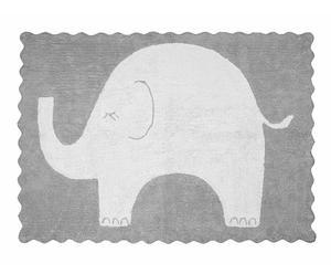 """Koberec """"Elefantito Grey"""", 160 x 120 x 1 cm"""