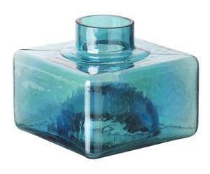 """Váza """"Carré Compil Blue"""", 12 x 12 x 10 cm"""