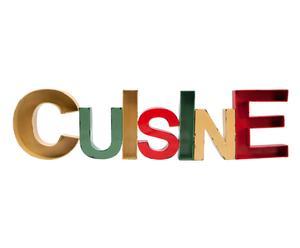 """Dekoracja """"Cuisine"""", 97 x 4 x 25 cm"""