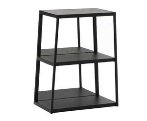 "Regál ""Veron Black"", 20 x 35 x 45 cm"