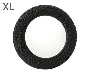 """Nástenné zrkadlo """"Florens Black"""", ø 90 x 6 cm"""