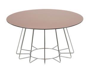 """Konferenčný stolík """"Casia Brown II"""", ø 80, výš. 40 cm"""