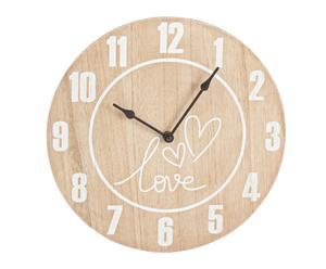 """Nástenné hodiny """"Florence"""", ø 30 x 4 cm"""