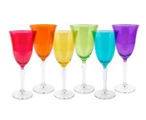 """Sada 6 pohárikov """"Reno"""", ø 9, výš. 21 cm"""