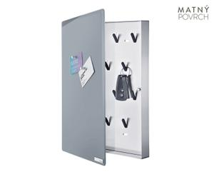 "Magnetická skrinka na kľúče ""Velio II"", 5 x 30 x 40 cm"