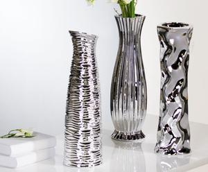 """Sada 3 váz """"Diverso II"""", 46 cm"""