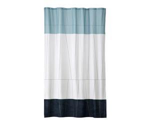 """Sprchový záves """"Verdi Blue"""", 150 x 200 cm"""