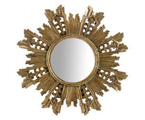 "Stojace zrkadlo ""Tyler Gold"", ø 24 x 2 cm"