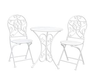 """Stolík s 2 stoličkami  """"Jeanette"""""""
