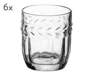 "Sada 6 pohárikov ""Camargue Clear"", obj. 400 ml"