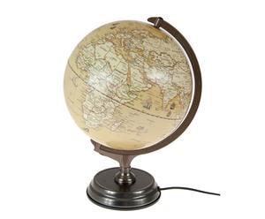 """Globus podświetlany """"World"""", Ø 30, wys. 37 cm"""