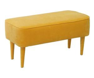 """Lavica """"Pastel Yellow"""", 40 x 90 cm"""