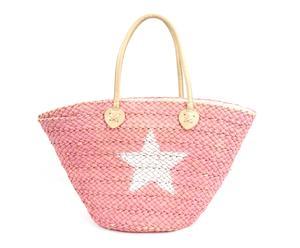 """Plážová taška """"Pink Star"""", 18 x 50 x 30 cm"""
