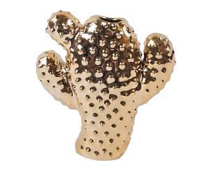 "Váza ""Cactus Gold"", 2,5 x 11,5 x 11 cm"