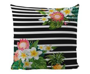 """Vankúš """"Stripes With Blossoms"""", 50 x 50 cm"""