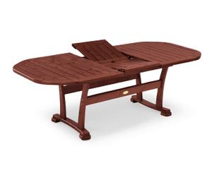 "Stôl ""Alvery Mahogany"", 110 x 180 x 72 cm"