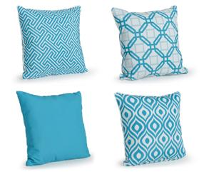 "Sada 4 vankúšov ""Cushion I"", 50 x 50 cm"