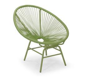"Stolička ""Web Green"", 79 x 79 x 82 cm"