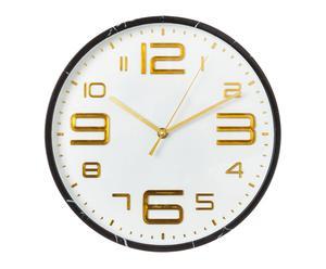 """Nástenné hodiny """"Lucette Black"""", ø 30,5 x 2 cm"""
