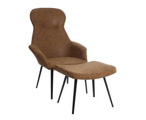 """Stolička a stolček  """"Nerys Beige"""", 78 x 68 x 106 cm"""