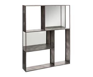 """Regál so zrkadlami """"Éloise"""", 16 x 80 x 100 cm"""